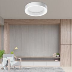 AZzardo Sovana Top 55 White Dimmable - Plafoniere design  - Elusia.ro